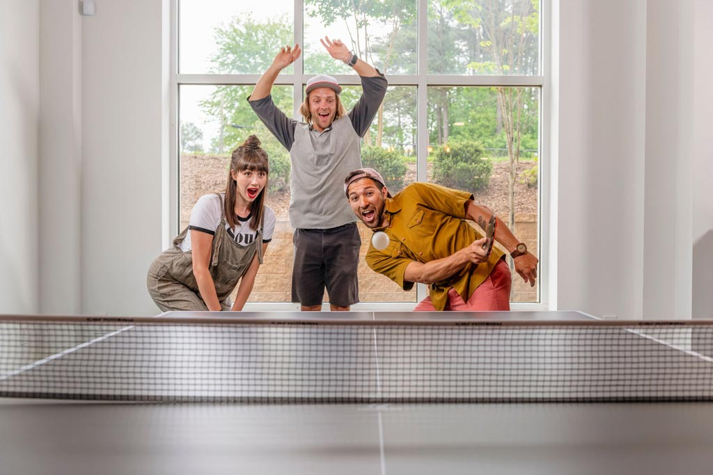 Evolve Companies 1701 North Chapel Hill Apartments Amenities Ping Pong