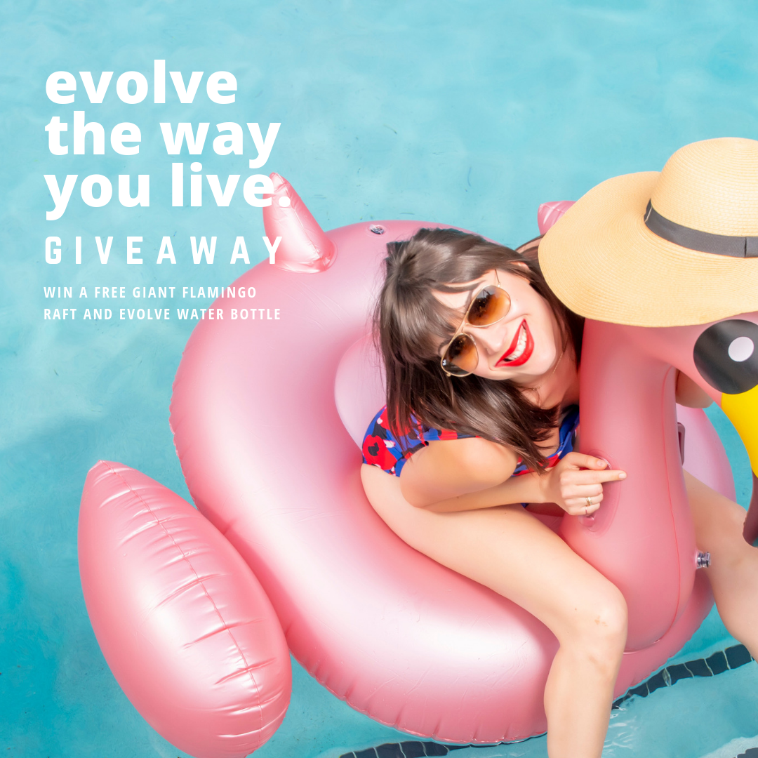 evolve the way you live instagram contest