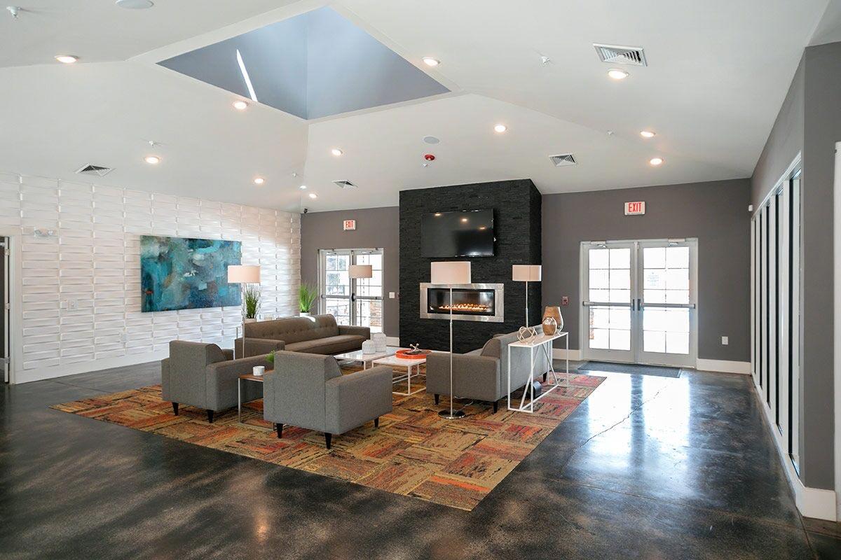 Evolve Companies Mountain View Apartments Asheville Lounge