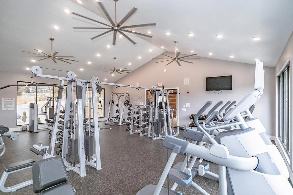 Evolve Companies 808 West Apartments Fitness Center