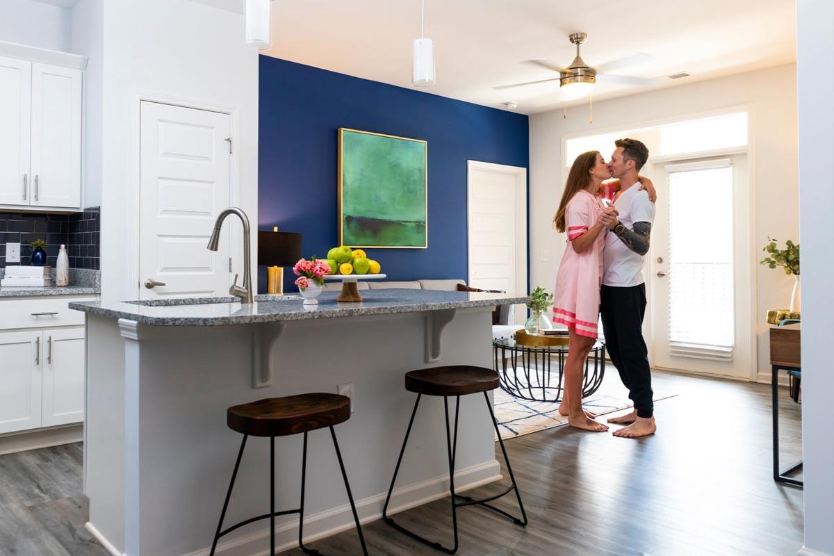 Evolve Companies Timber Creek Luxury Apartments Kitchen