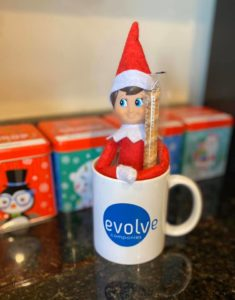 top 5 new year's eve decorations elf sitting in cocoa mug