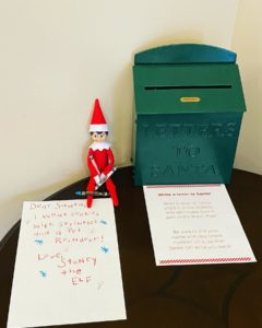 top 5 new year's eve decorations elf sitting near letters to santa