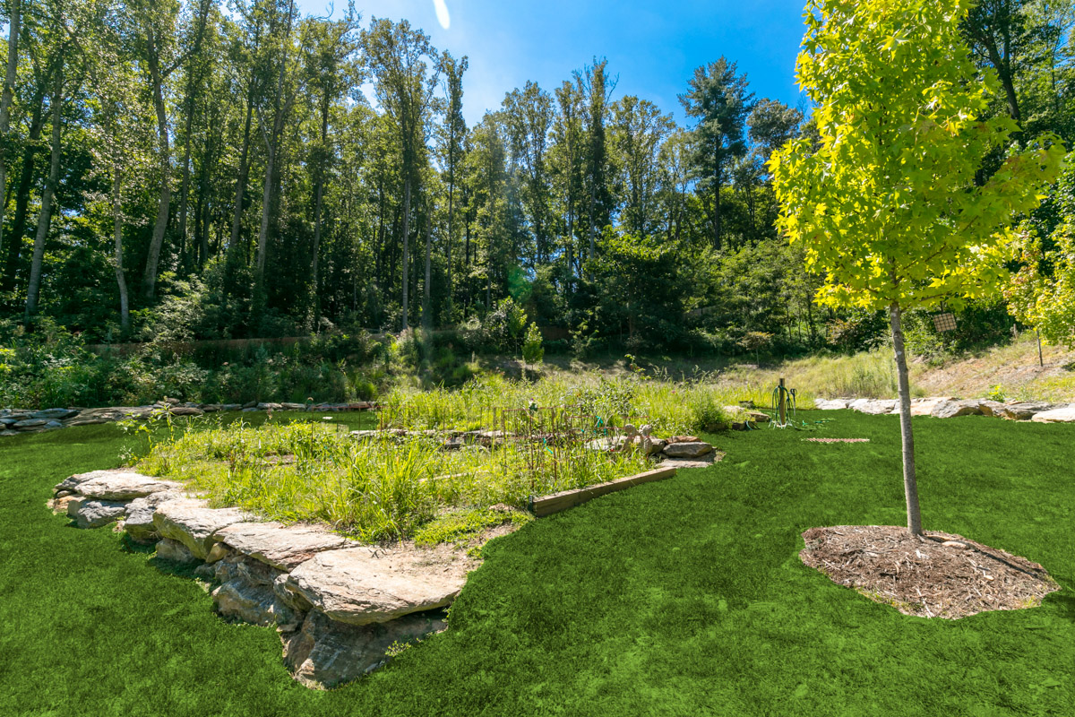 community gardens at evolve