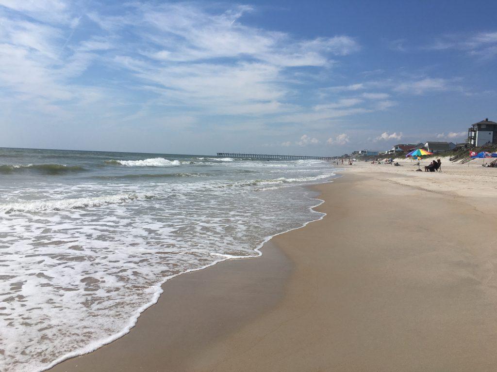 north topsail beach evolve road trip blog