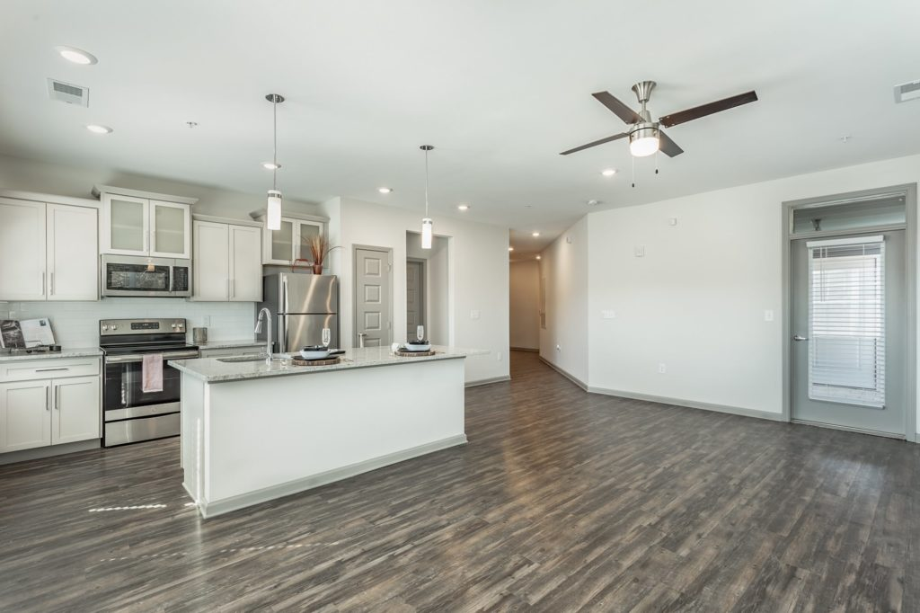 evolve companies build the dream chattanooga model with dark flooring