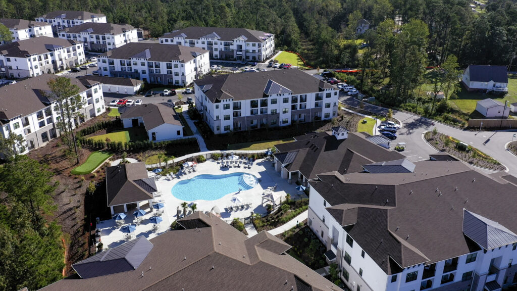 evolve blog construction hawthorne at smith creek drone pool