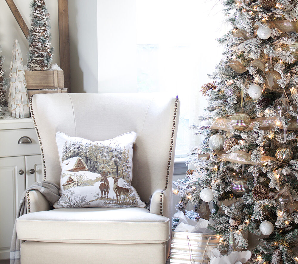 woodland tree evolve blog christmas tree themes
