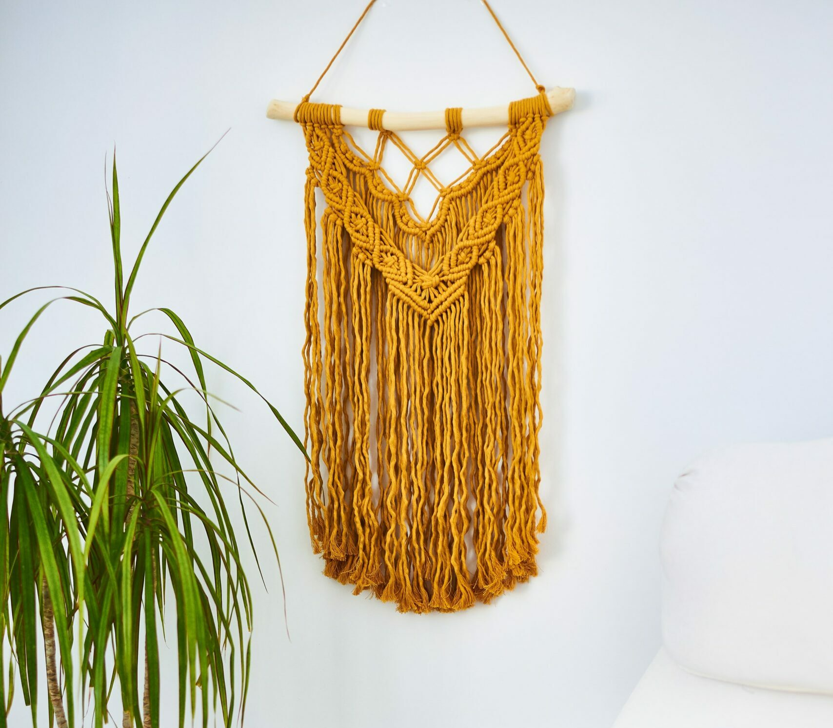 macrame wall hanging for valentines day evolve blog