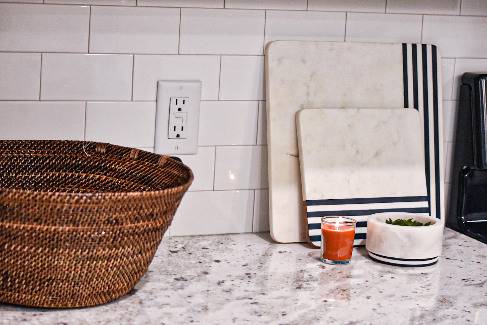evolve simplify blog kitchen counter