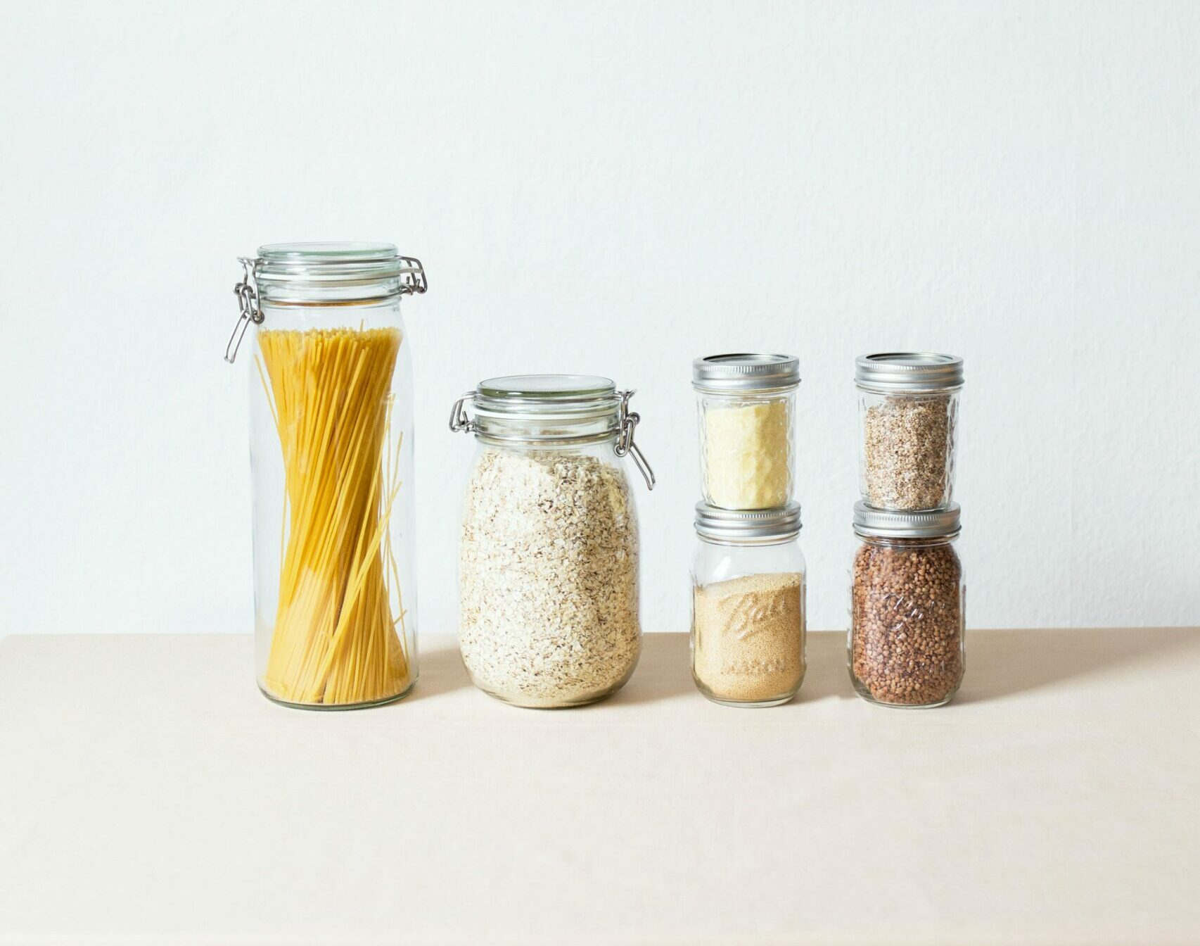 jars for dried goods kitchen organization evolve blog