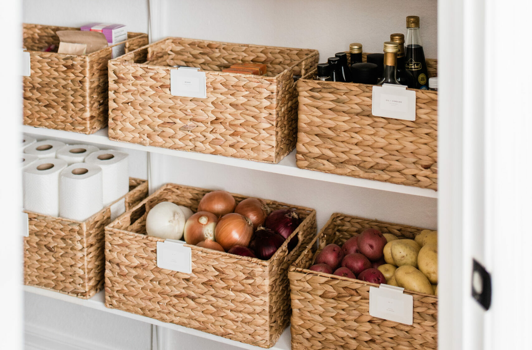 kitchen organization pantry baskets evolve blog