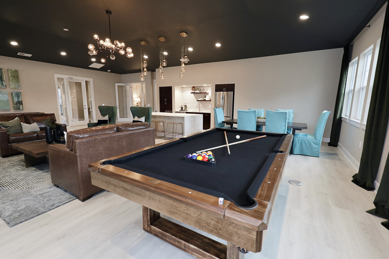 evolve heritage billiards room clubhouse