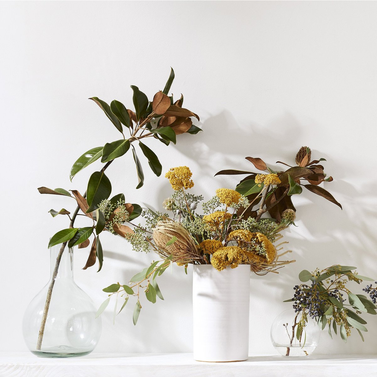 fall decor dried arrangement evolve blog