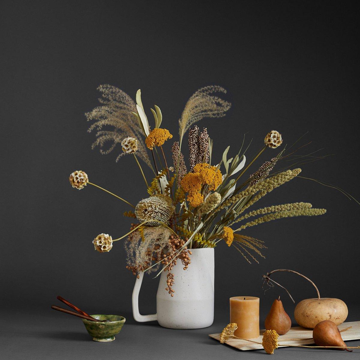 dried arrangement fall decor evolve blog