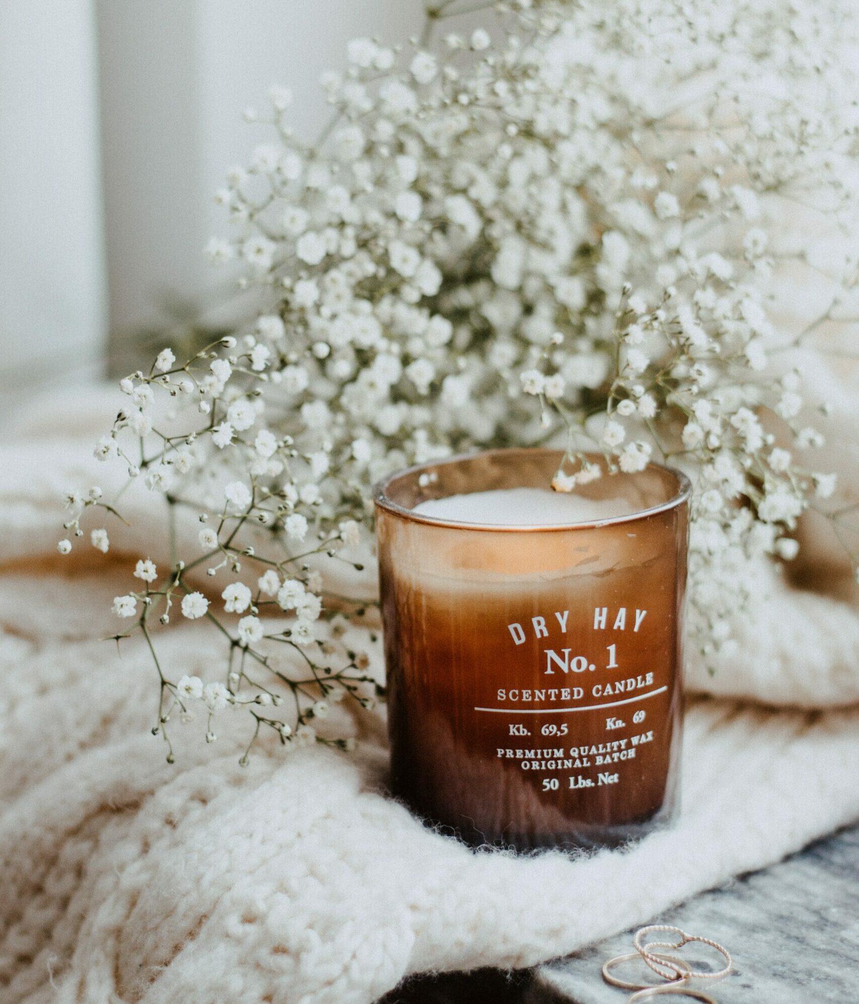 fall decor candle evolve blog