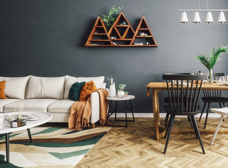 cozy natural living room fall decor evolve blog