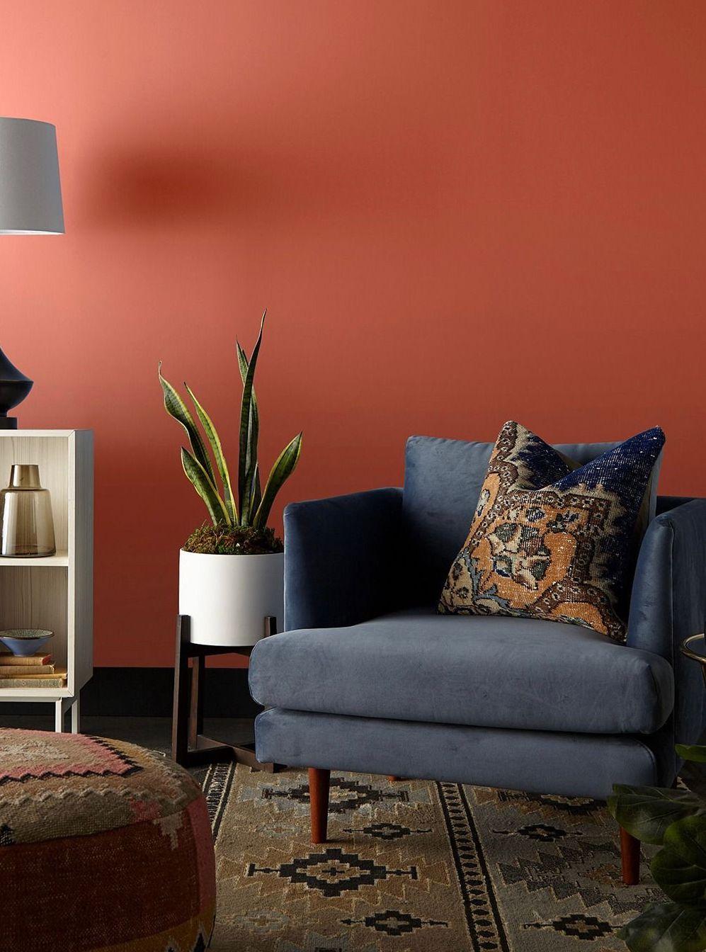 kalahari sunset living room evolve paint blog