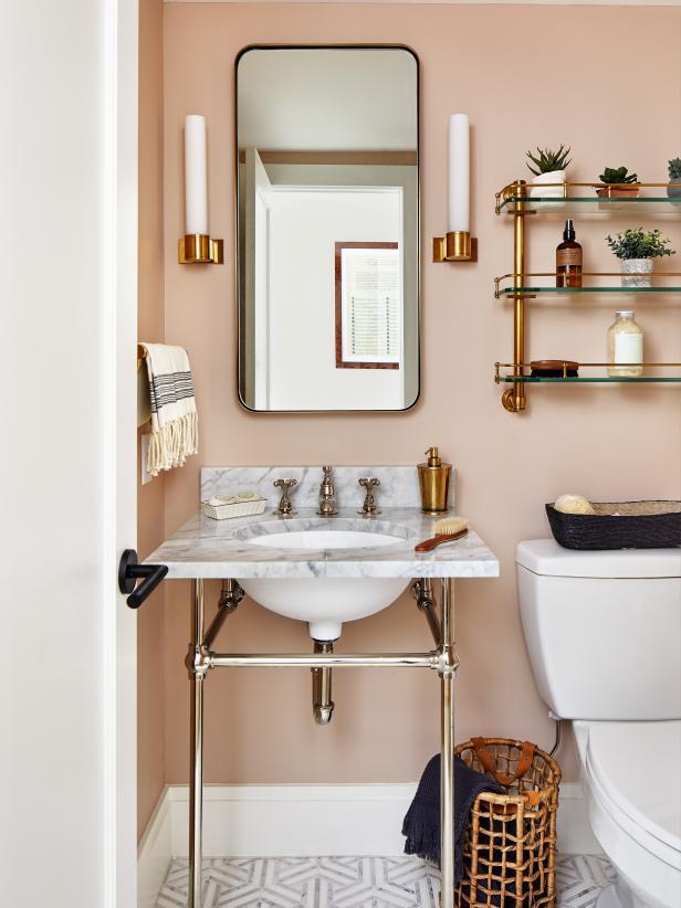 pale apricot bathroom evolve paint blog